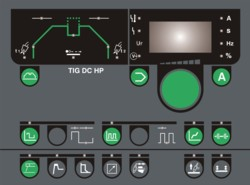 Panel TIG DC HP